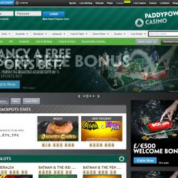 paddy power casino homepage