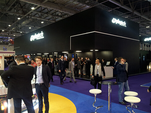 Playtech stand - ICE London 2015