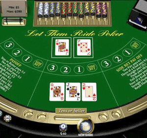 poker online screenshot