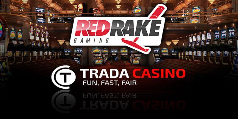 Trada Casino Partner up with Red Rake Gaming