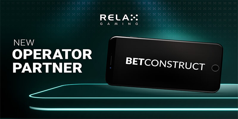 Relax Gaming reach deal with BetConstruct