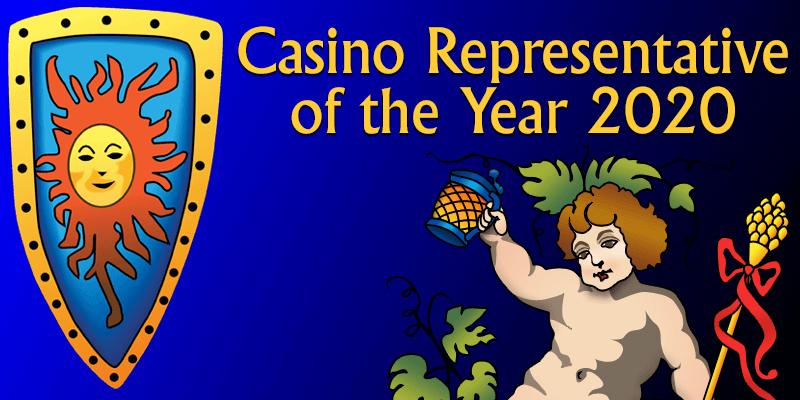 casino representative of the year 2020