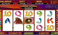 Ronin Slots winning screenshot by Heroics