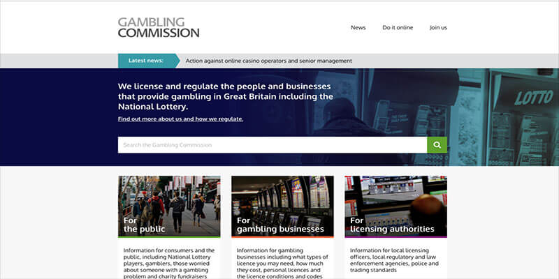 Gambling Commission aim to make Gambling Safer