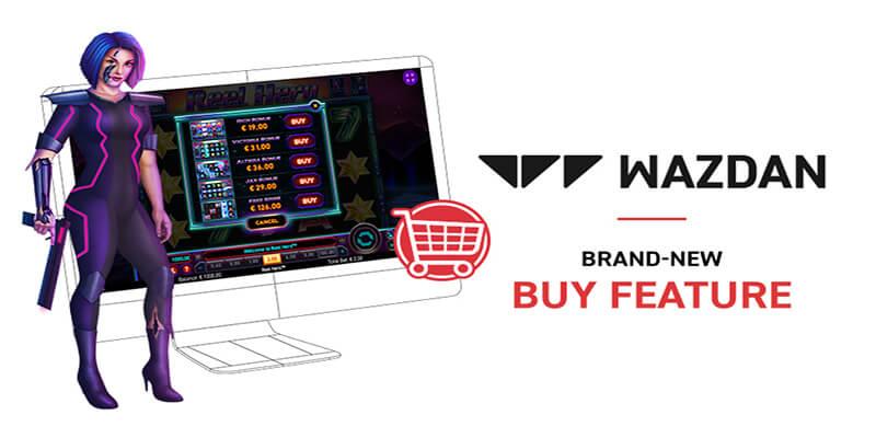 Wazdan Introduce Buy Feature
